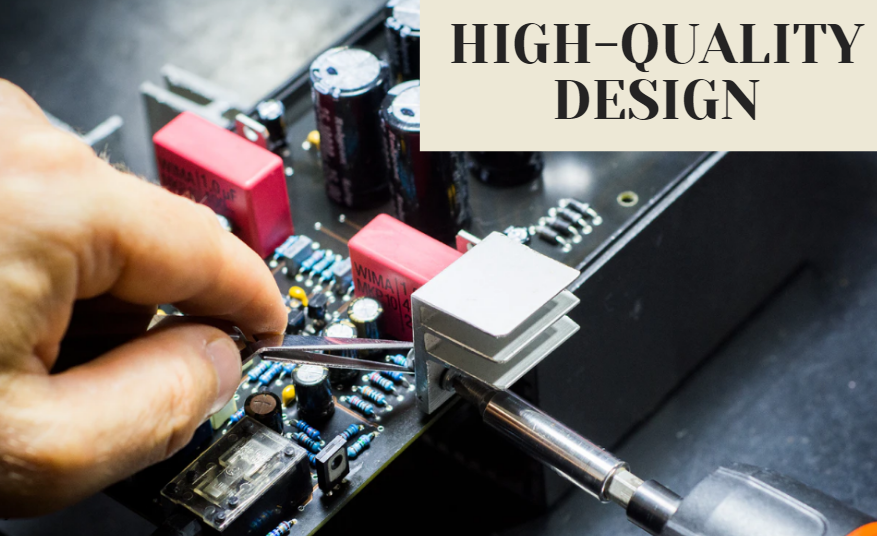 High quality electric component design