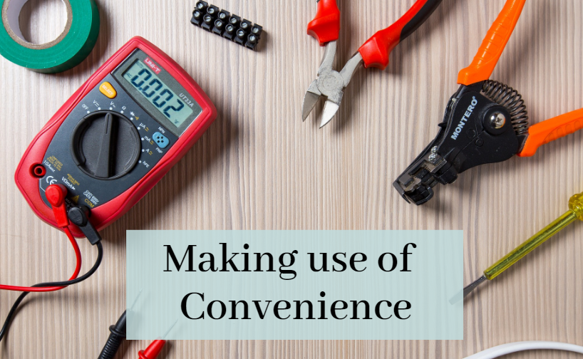 Using online electronic buying convenience