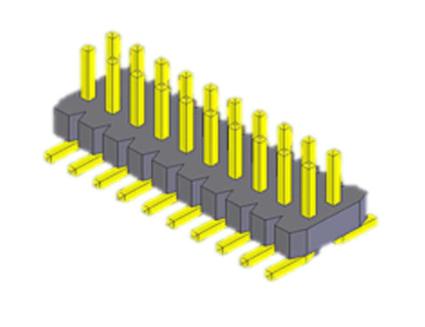 Pin Header1.0mm (0.039″) pitch